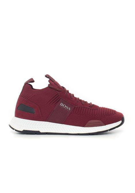 Canvas sneaker BOSS | 5032317 | TITANIUM_RUNN_KNST-50414734601