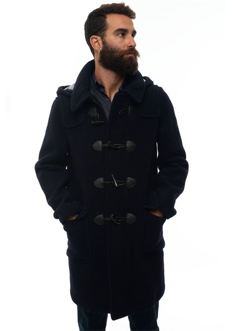 Duffle coat with frog fastening Brooks Brothers | 20000057 | 090527BLU