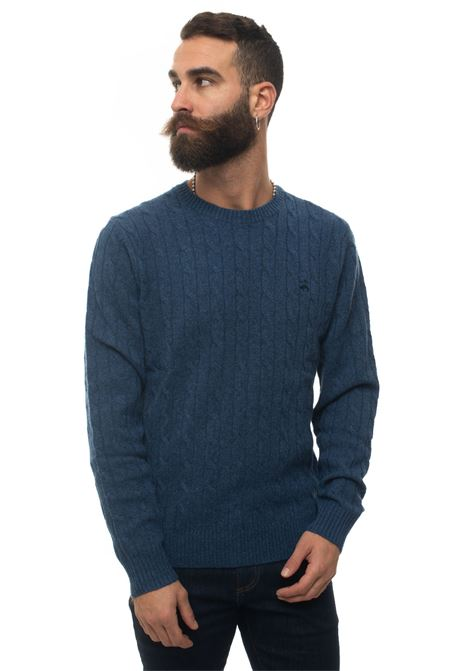 Pullover girocollo Brooks Brothers | 7 | 122847DENIM