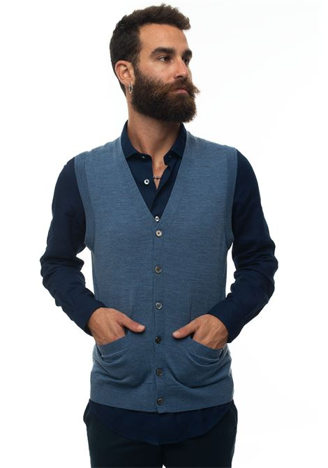 Knitted waistcoat Brooks Brothers | 38 | 127528DENIM