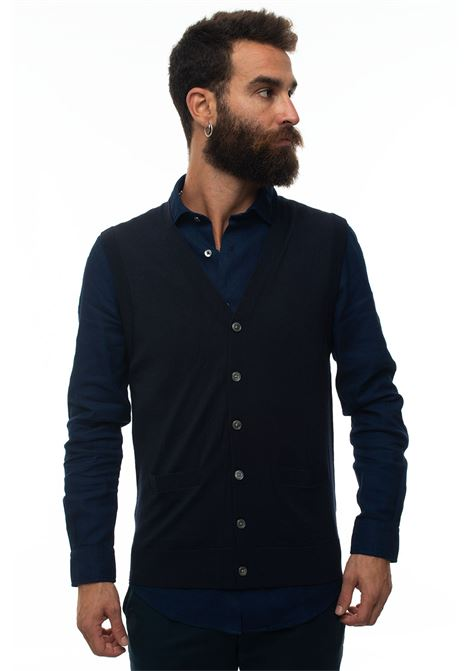 Gilet in maglia Brooks Brothers | 38 | 127529NAVY