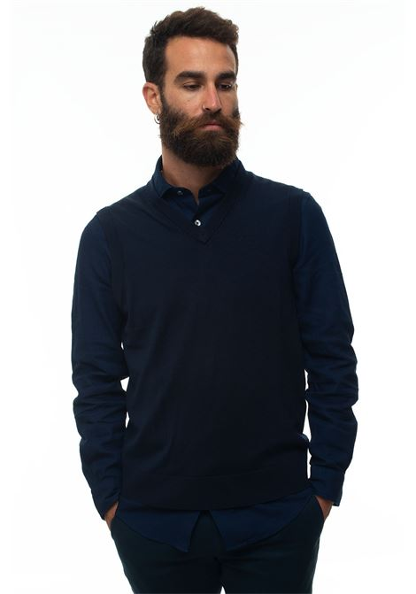 Gilet in maglia Brooks Brothers | 38 | 127564NAVY
