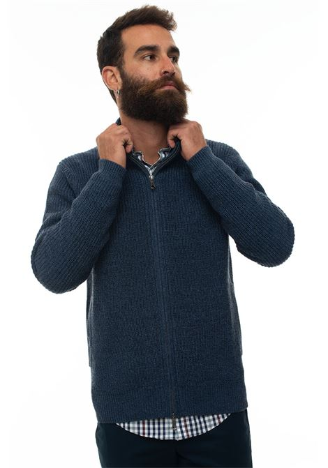 Cardigan zip con doppio cursore Brooks Brothers | 39 | 136520MARLIN