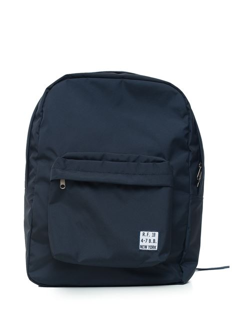 Canvas rucksack Brooks Brothers | 5032307 | 137543NAVY