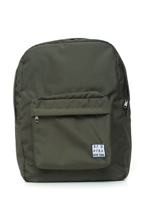 Canvas rucksack Brooks Brothers | 5032307 | 142378GREEN