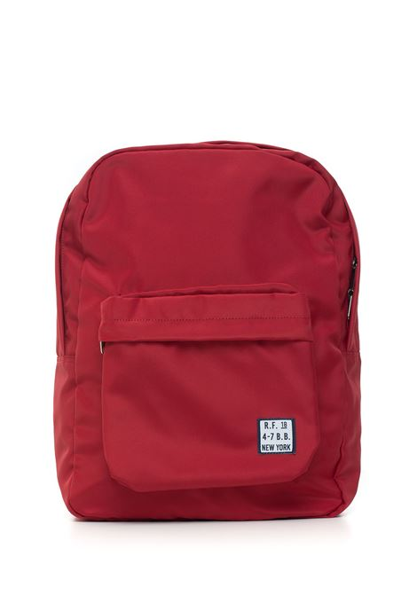 Canvas rucksack Brooks Brothers | 5032307 | 142379RED