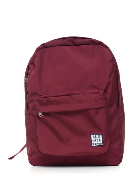Canvas rucksack Brooks Brothers | 5032307 | 142381ZINFANDEL
