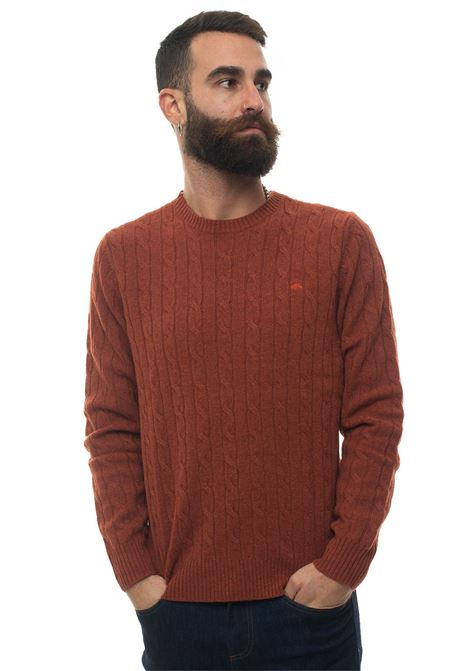 Round-neck pullover Brooks Brothers | 7 | 146077TERRACOTTA