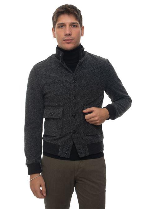 Knitted harrington jacket Brooksfield | -276790253 | 207A-A039V0031