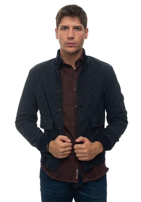 Knitted harrington jacket Brooksfield | -276790253 | 207A-A039V0032