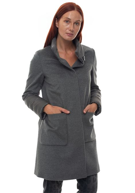 Coat with concealed button placket Cinzia Rocca | 17 | S461001-49E06
