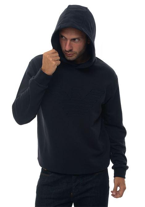 Sweatshirt with hood Emporio Armani | 20000055 | 6G1MB6-1J36Z0922