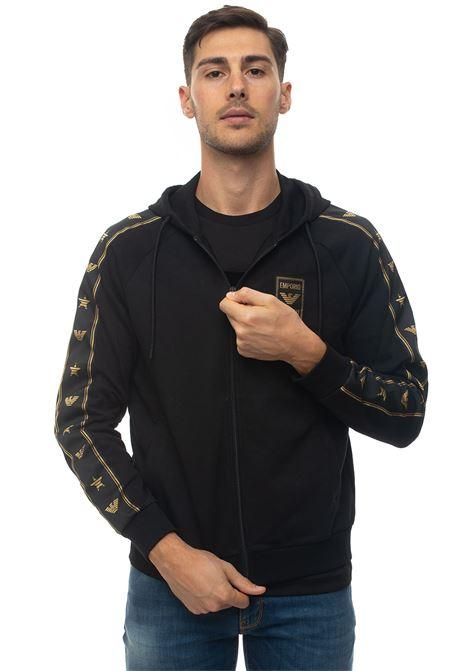 Zip sweatshirt with hood Emporio Armani | 20000055 | 6G1MG6-1J07Z0999