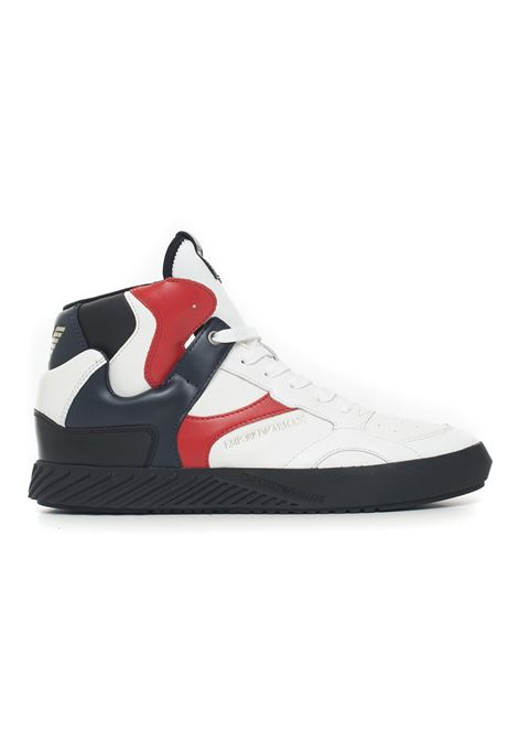 Sneakers alta Emporio Armani | 12 | X4Z082-XM191P070