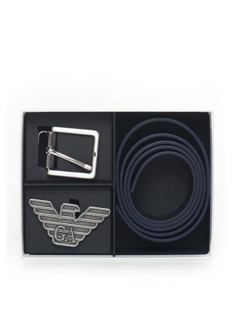 Set cintura con doppia fibbia Emporio Armani | 20000041 | Y4S270-YLP4X88017