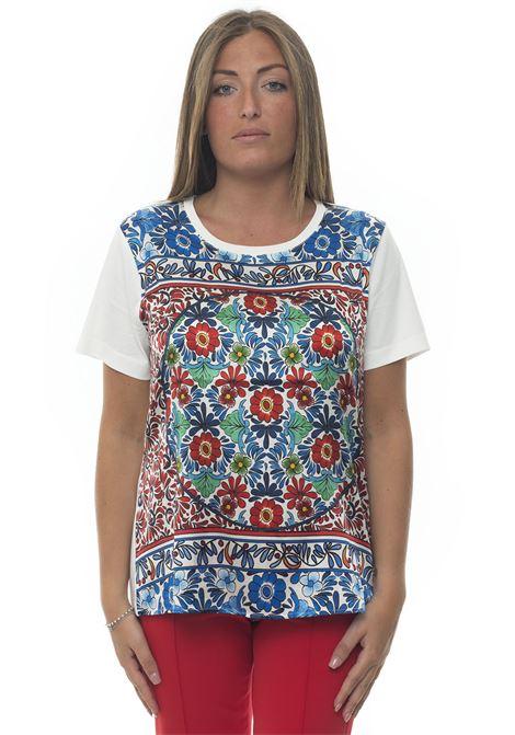 Short-sleeved round-necked T-shirt Escada | 8 | 5029987A101