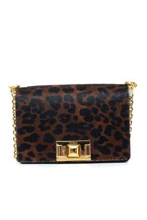 Small-size leather bag Furla | 31 | FURLA MIMI BVA6-T45TONI NATURALI + ONYX