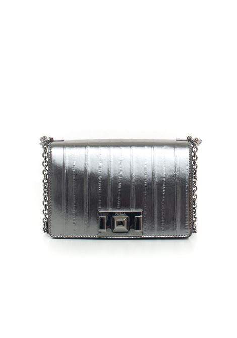 Mimì Small rectangular bag Furla | 31 | FURLA.MIMI_BVA6_T59ACCIAIO+ONYX