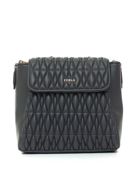 Leather rucksack Furla | 31 | PIN_COMETA_BYO7_2Q0ASFALTO