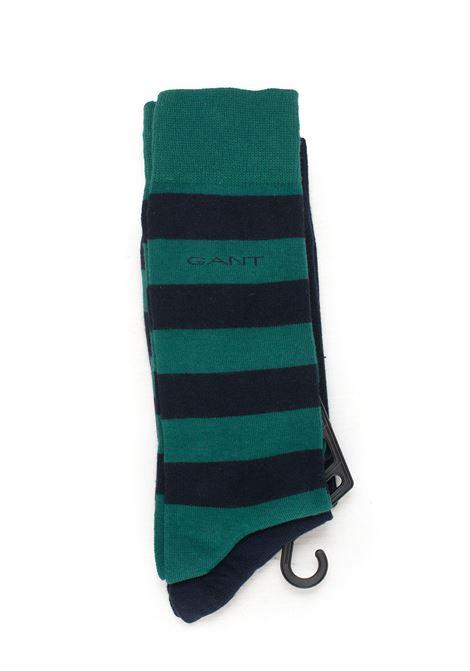 Set 2 Socks Gant | 33 | 9960084373