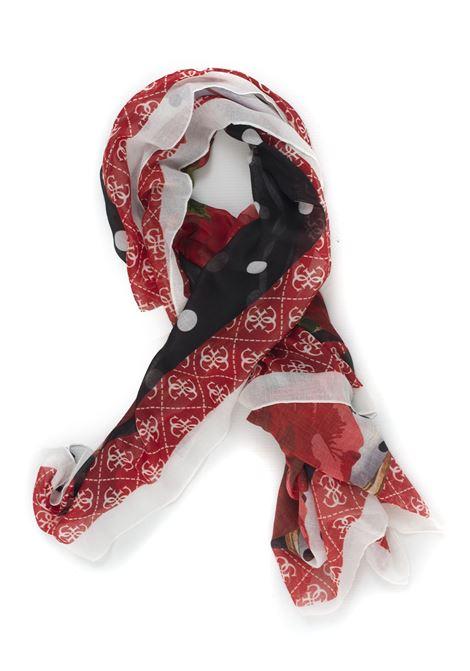 Kefiah foulard Guess | -709280361 | AW8144-POL03RED
