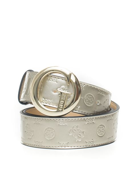 Peony Shine buckle belt with logo detail Guess | 20000041 | BW7213-P9335CHA