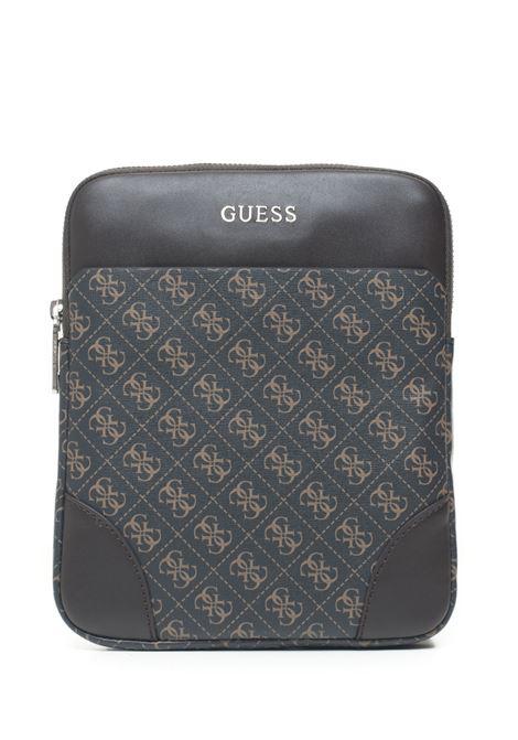 Manhattan Logo  Shoulder bag Guess | 20000001 | HM6765-POL94BRO