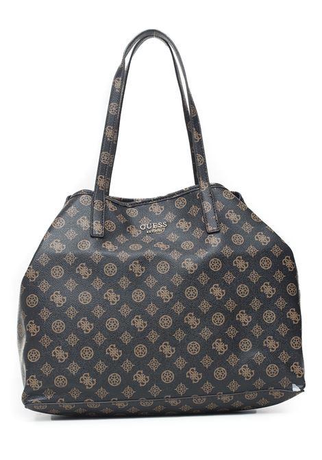 Vikky Large Tote Shopper bag Guess | 31 | HWPQ69-95240BRO