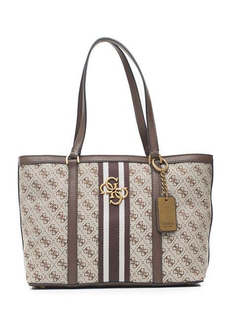 Vintage tote Shopper bag Guess   31   HWSB73-04240BRO