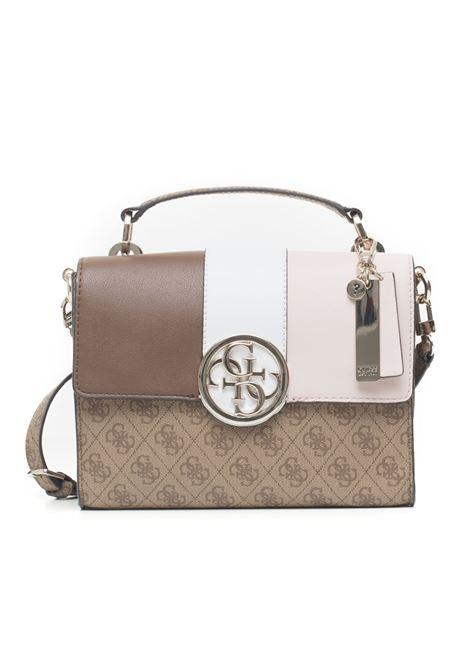 Bluebelle flap handbag Guess   31   HWSG74-02180BRO