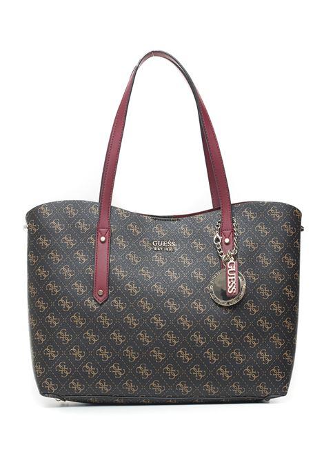 Aline tote Shoulder bag Guess   31   HWSG74-37230BRM