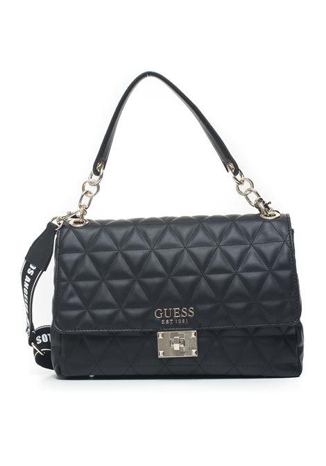 laiken quilted shoulder strap bag Guess | 31 | HWVG74-07200BLA