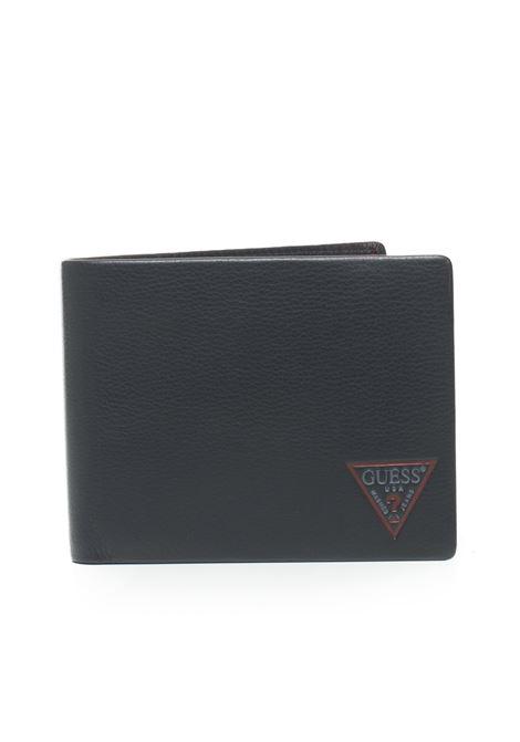 George Wallet Guess | 63 | SM2624-LEA20BLA