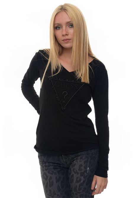 T-shirt Guess   8   W93I54-JA900JBLK