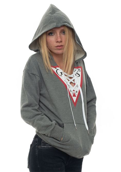 Sweatshirt with hood Guess | 1631859650 | W93Q55-K8800MCH