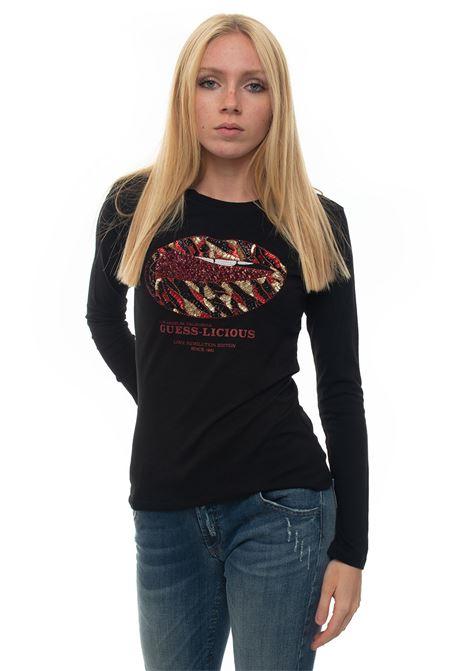 T-shirt Guess   8   W94I90-K75R0JBLK