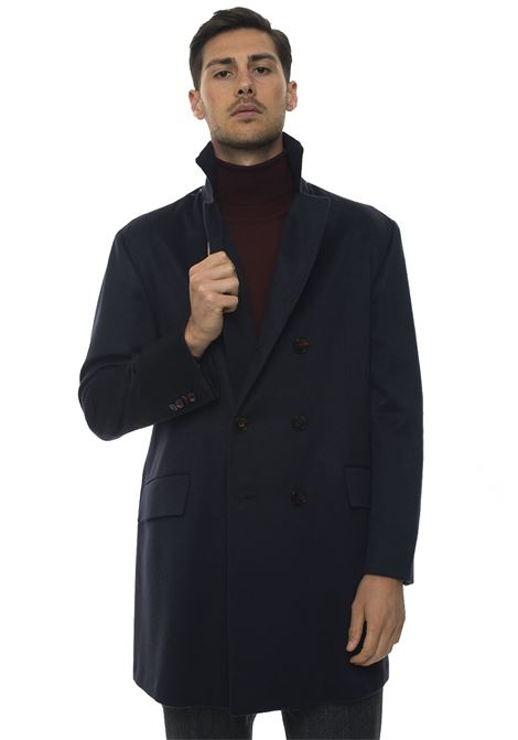 Double-breasted coat Kiton | 17 | UGO410-K0114016