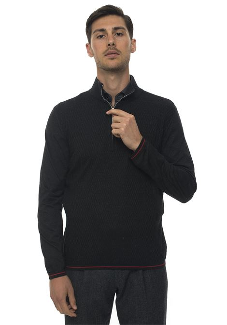 Pullover mezza zip Kiton | 7 | UK1105AI191091