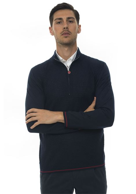 Pullover mezza zip Kiton | 7 | UK1105AI19K111