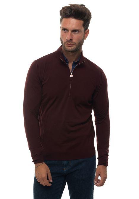 Pullover mezza zip Kiton | 7 | UK8999W18K255001