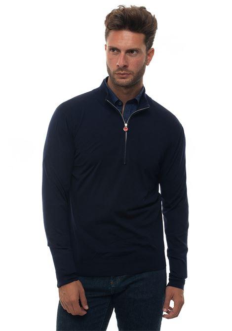 Pullover mezza zip Kiton | 7 | UK8999W18K4000