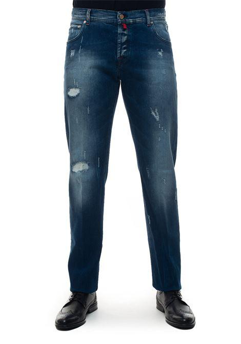 Jeans denim con rotture Kiton | 24 | UPNJSJ02R5202001