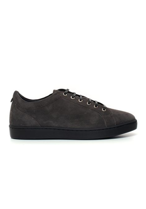 Leather sneakers with laces Kiton | 5032317 | USSNERON0040105005