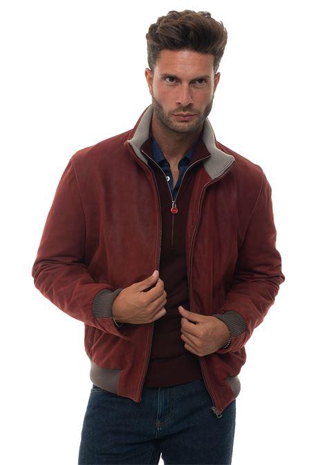 Leather harrington jacket Latini | -276790253 | 293811E-83012BAROL