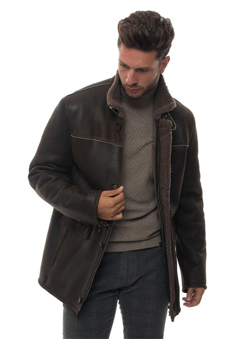Shearling jacket Latini | 20000057 | 906716I-10315FANGO
