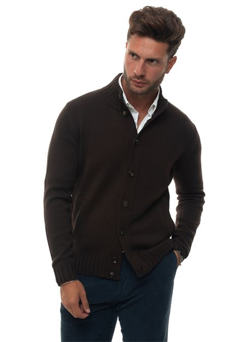 Cardigan bottoni Luigi Borrelli | 39 | 05MG2033-M851360
