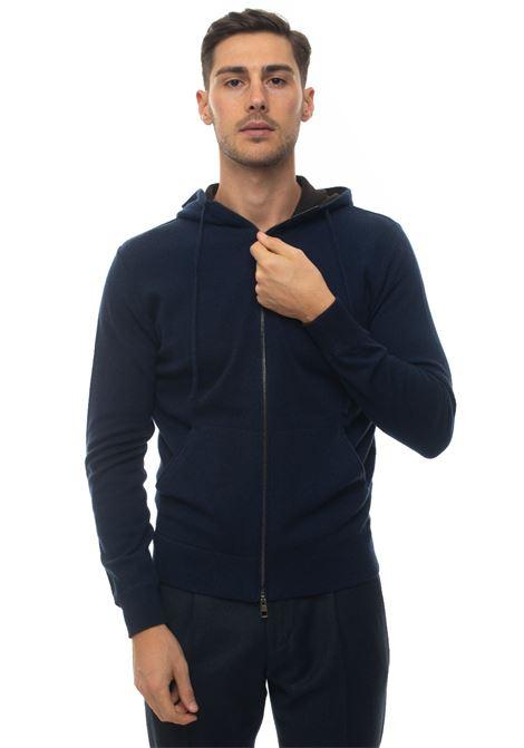 Sweatshirt with hood Luigi Borrelli | 20000055 | 12MG2016-M850771