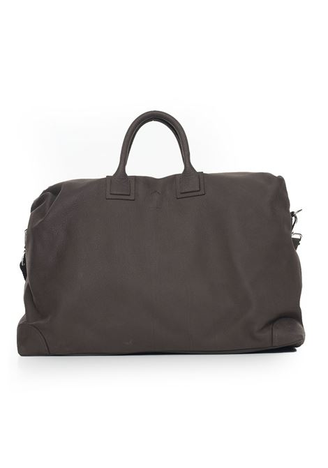 Big bag in leather Luigi Borrelli | 20000006 | BAG300-NABUKCIOCO