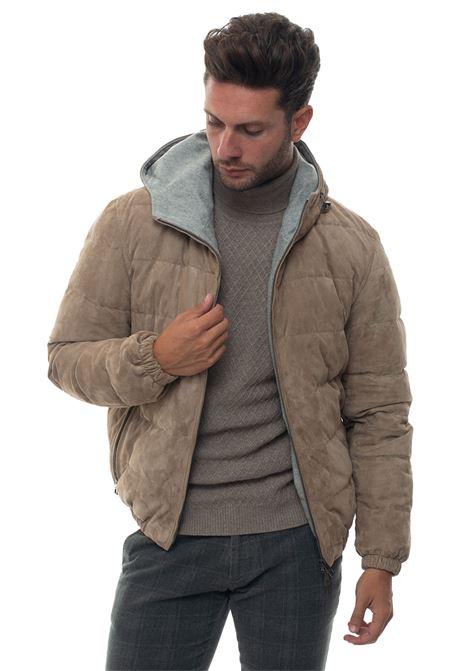 Hooded harrington jacket Luigi Borrelli | -276790253 | OW116R-G852160