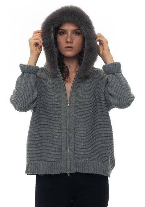 Cardigan zip Maria Bellentani | 39 | 6212-7005006
